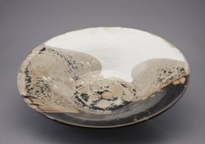 Artist Sarah Merced CERAMIC BOWL 2008 Ceramic Clover Award Purchase Art Student Honors Exhibition 2008 S.396.08.CR