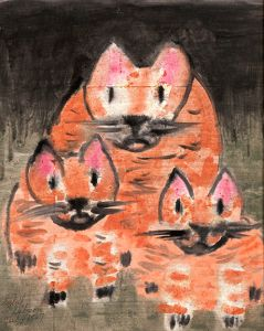 three-cats-sybil-gibson