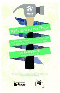 decorative image of repurposedartshow_poster_11x171-e1555333734169 , RePurposed Art Show 2019-04-15 08:08:33